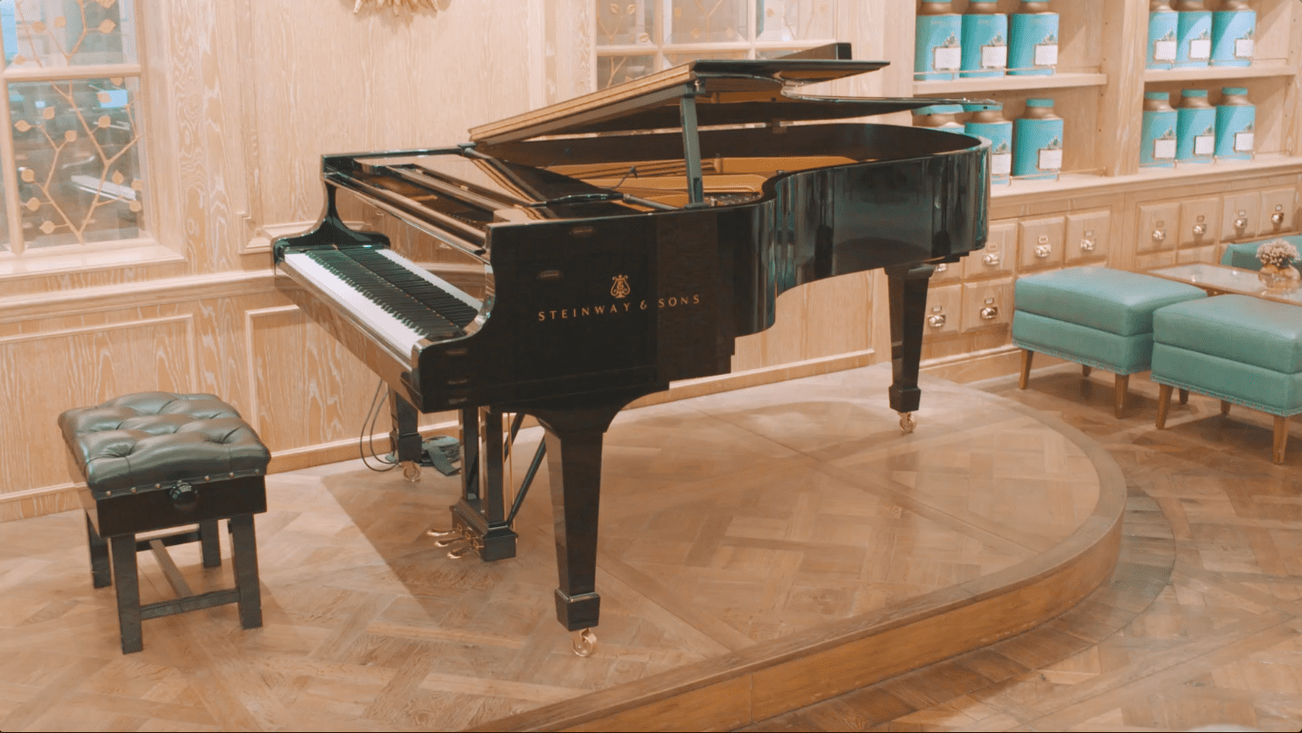 Steinway and Fortnum and Mason Smart Cookie Media